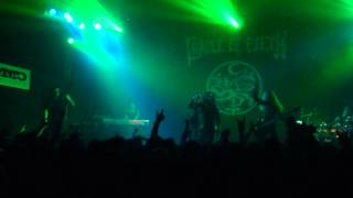 Cradle of filth - The Forest Whispers My Name( MMC, Bratislava, 13.12.2012) part.1
