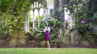 Lisa Ellipse - Hula Hoop Dance - Return to Innocence