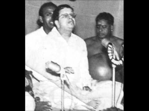 Madurai Mani Iyer- Rama Nee Samana- Ragam Kharaharapriya