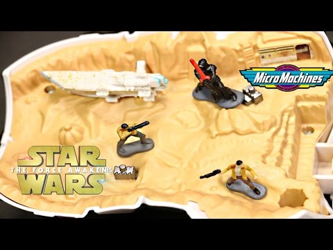 2015 STAR WARS MICRO MACHINES FIRST ORDER TRANSPORTER