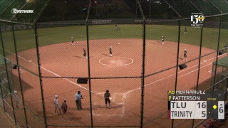 Trinity Softball Vs Texas Lutheran Doubleheader