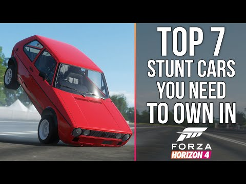 Forza Horizon 4 - TOP 7 STUNT CARS YOU NEED TO OWN IN FORZA HORIZON 4