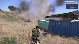 ARMA 3 Эпичное падение вертолета(, 2015-12-08T21:02:04.000Z)