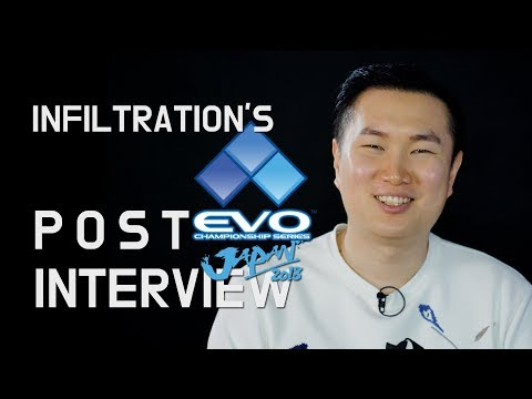 Infiltration's Post Evo Japan 2018 Interview