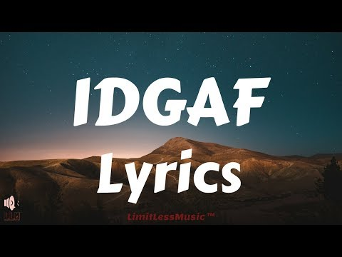 Download Youtube: Dua Lipa - IDGAF (Lyrics)