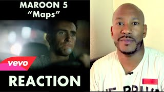 Maroon 5 - Maps (Official Video HD) - Reaction video- RADIO