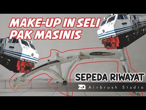 REPAINT SIMPLE SEPEDA LIPAT Wimcycle Pocket Rocket - Make Up In Seli Nya Pak MASINIS