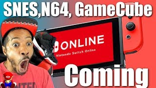 Nintendo Switch Online Getting Snes, N64, & Gamecube Games?