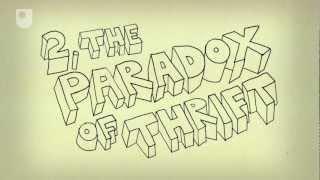 60 sekund z ekonomią: Paradoks oszczędzania (2/6)