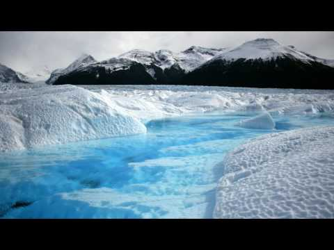 Heavy Arctic Blizzard With Relaxing Water | White Noise for Sleep, Studying, Relaxation