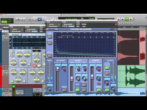 Sonnox Quick Tips #28 - Denoising  guitar and vocal parts