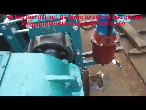 Tời kéo mặt đất 1 tấn, Tời kéo mặt đất JM1,Tời kéo mặt đất chính hãng giá rẻ 0972.818.600