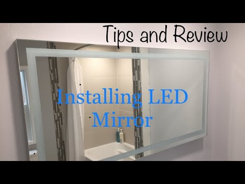Installing Illuminated LED Mirror (personal Tips and Review) Mp3