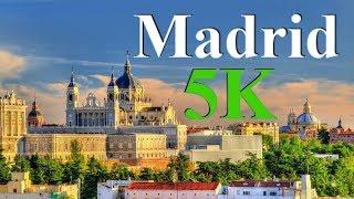 Madrid city 2018, Spain Madrid 2018, Madrid 2018, Madrid 4K sky