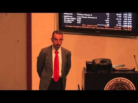 2014 UNT Open Access Symposium, Featured Speaker Part 3