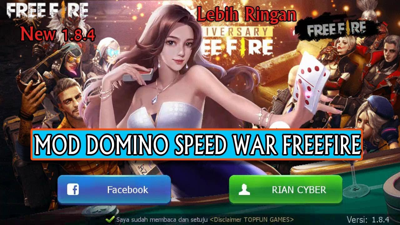 Domino Qiu Qiu Mod Apk Freefire Speed Hack Terbaru Youtube