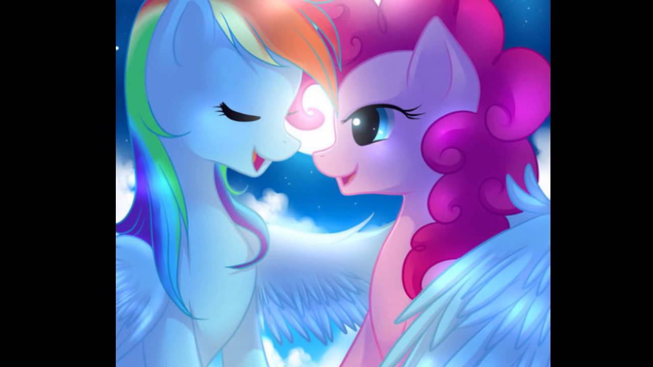 Pinkie pie x rainbow dash