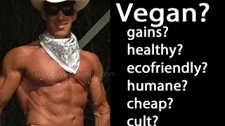 Should you be vegan? Live broadcast about vegetarian and vegan nutrition