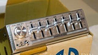 Vintage Pioneer CD-5 Equalizer EQ - WOW!
