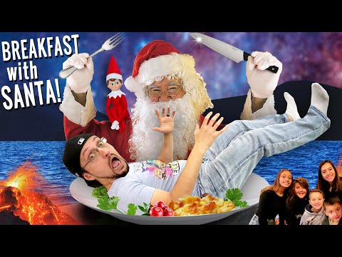SANTA'S BREAKFAST! and a Christmas Scavenger Hunt! (BUDDY the ELF on the SHELF)