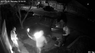 CCTV Footage of Attack on Andrey Rudomakha