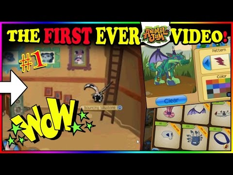 WATCHING THE VERY FIRST ANIMAL JAM VIDEO EVER!