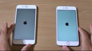 iPhone 7 Plus vs iPhone 6S Plus - Speed Test!