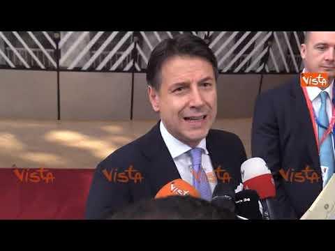 """Conte A Bruxelles: """"Per La Commissione UE Appoggiamo Chi Ridiscute Le Regole"""""""