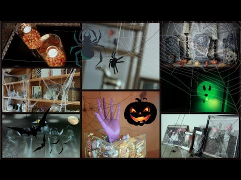 DIY Halloween Room Decor!