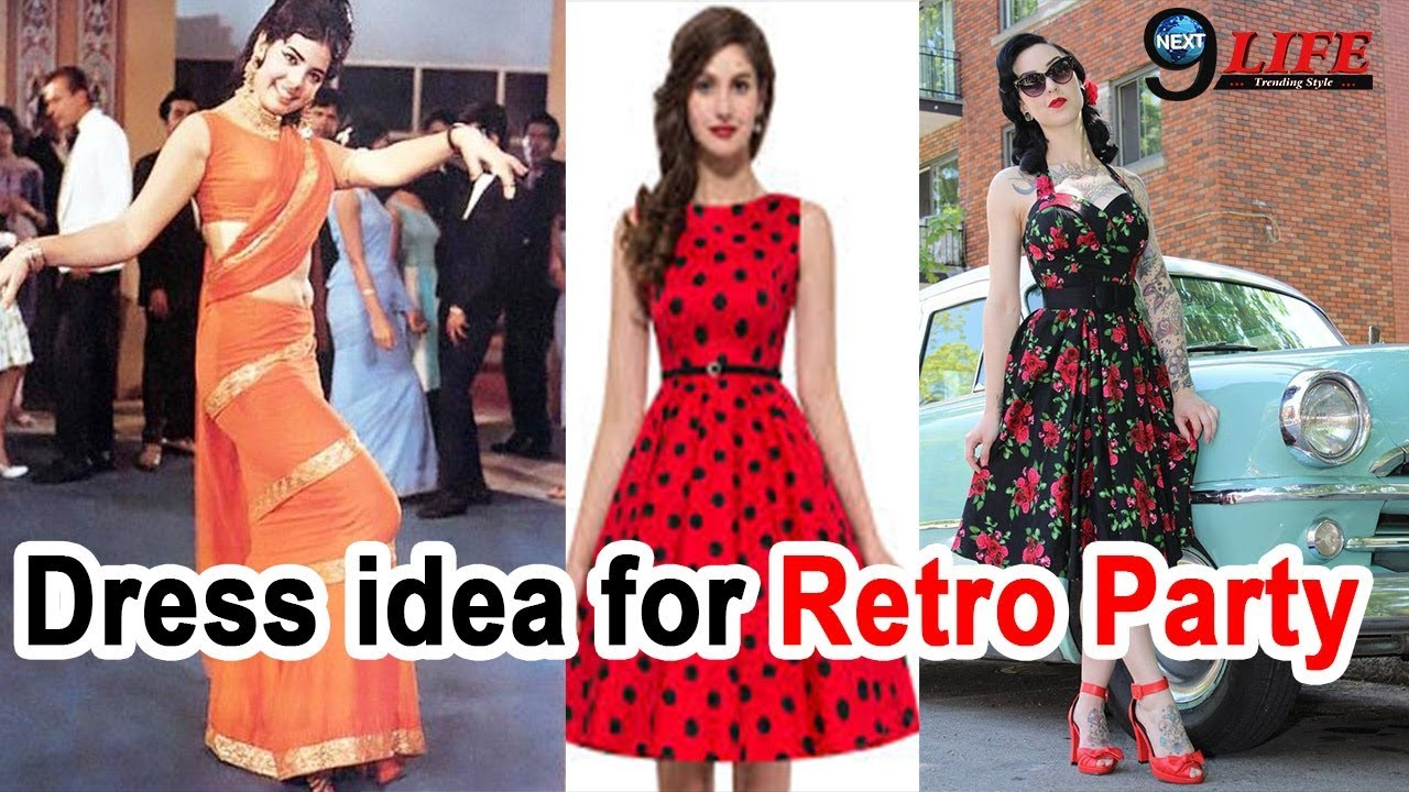 How To Dress up for a Retro Bollywood Theme Party