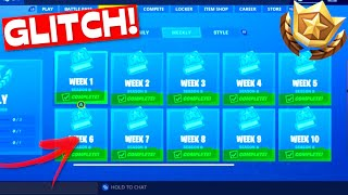 [GEFIXED] All TASKS created by this GLITCH! | Fortnite Challenges Bug