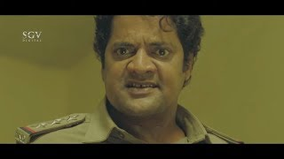 Notorious man caught by Police Ravishankar | Dandupalya Movie Scene | Kannada Movies