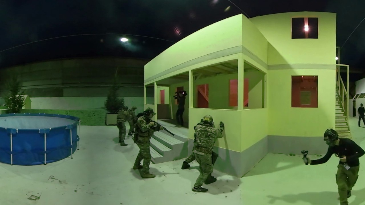 Counter-Strike goes 360: Airsoft game on real-life replica of legendary 'cs_mansion' map