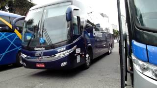 Ruído externo de um ônibus Paradiso Double Deker da Eucatur