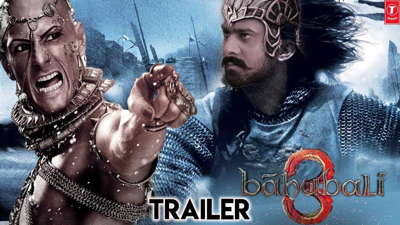 Download Bahubali 3 Trailer   Prabhas   Anushka Shetty   Pradeep Rawat   SS Rajamouli Releasing Date 2021