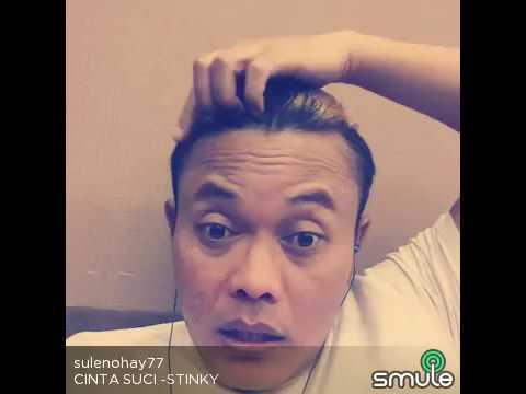 Kang SULE nyanyi lagu STINKY,, CINTA SUCI di SMULE,,, suaranya keren cuyyy