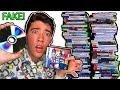 Selling 100 FAKE Games to GameStop!