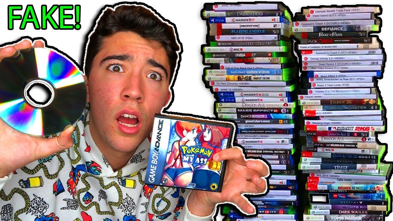 selling 100 fake games
