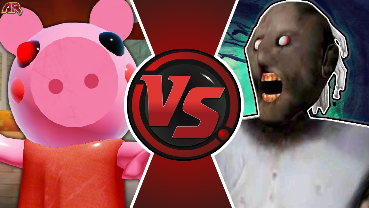PIGGY vs GRANNY! (Granny vs Roblox Piggy Animation ...
