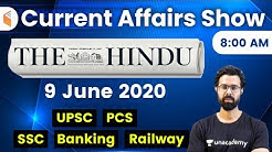 8:00 AM - Daily Current Affairs 2020 by Bhunesh Sir | 9 June 2020 | wifistudy