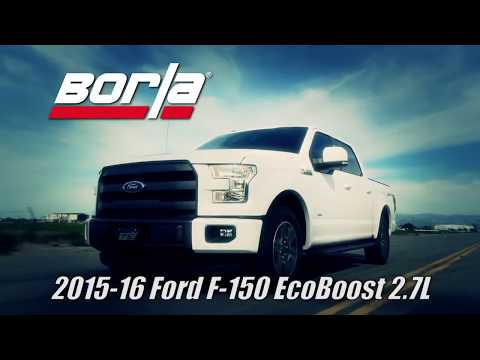 Borla Exhaust Systems | 2015 to 2017 Ford F-150 | motorwise.ca