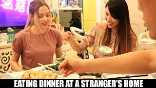 I ATE DINNER AT A STRANGER'S HOUSE | Eating Food With Foodies On Friday Ep. 10