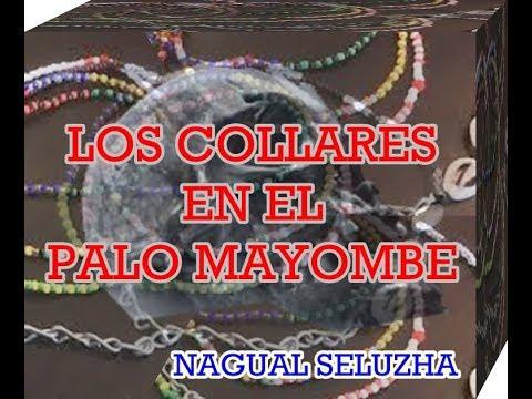 84111cf60b08 COLLARES EN PALO MAYOMBE (COLLAR DE BANDERA) - YouTube
