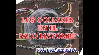 COLLARES EN PALO MAYOMBE (COLLAR DE BANDERA)