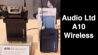 Audio Ltd A10 Wireless Microphone System - Sound Devices NAB 2018