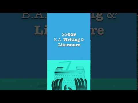 Writing and Literature SG249 - Institute of Technology Sligo