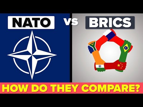 NATO vs BRICS - What's The Difference & How Do They Compare?