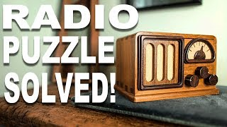 Solving the $1000 Radio Puzzle!!