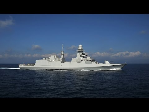 Egypt Navy Tahya Misr Missile Destroyer Frigate Arabic Military Powerhouse 埃及海軍導彈護衛艦
