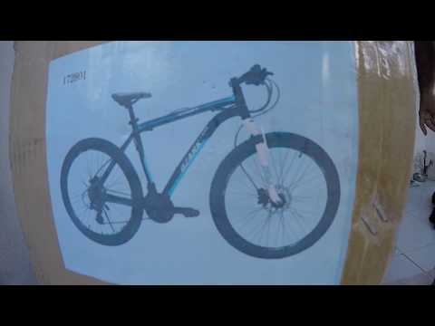 Unboxing BIKE Ozark Trail KAMET / Walmart 2017 (VÍDEO 1)